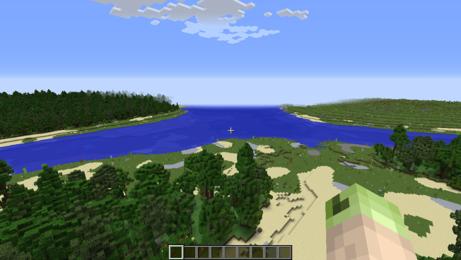 The Three Islands Without Shaders